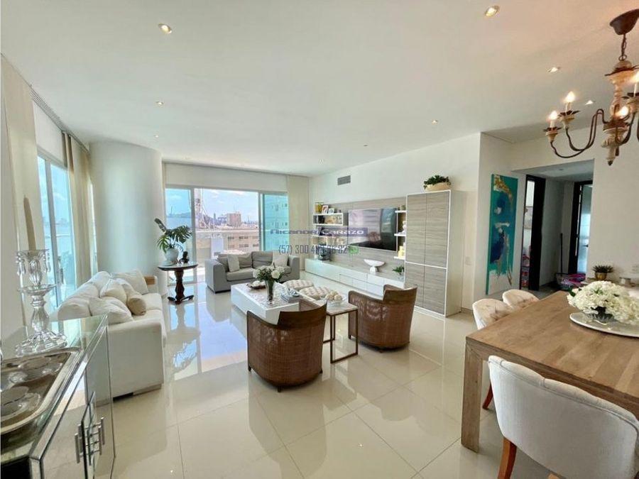 venta apartamento 3 alcobas edificio mare castillogrande cartagena