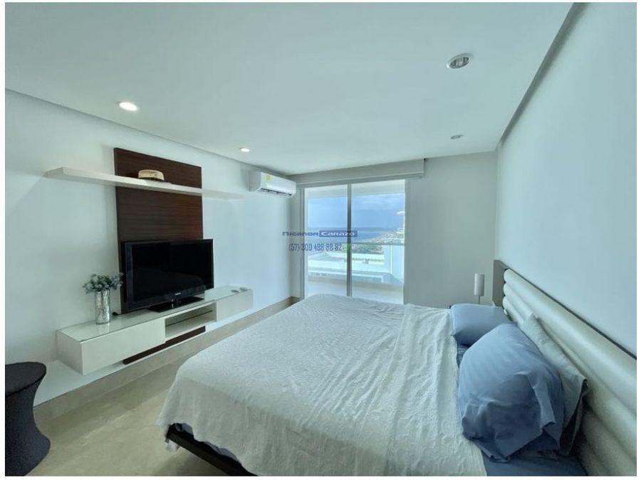 venta apartamento 3 alcobas edificio atabeira los morros cartagena