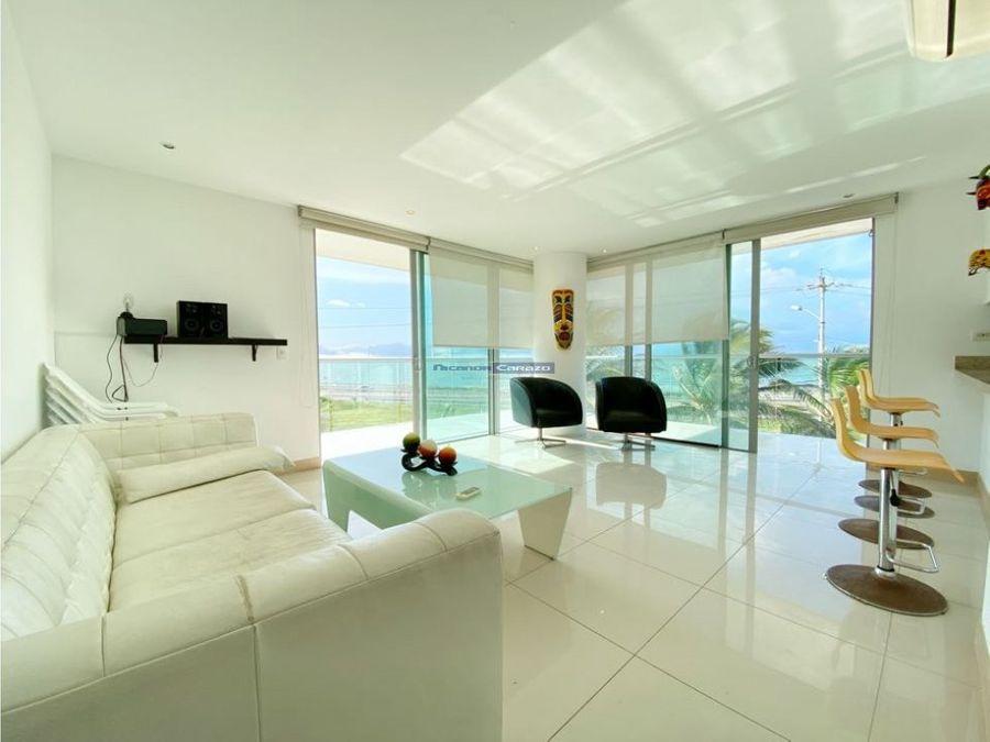 venta apartamento 3 alcobas en beach club condominio crespo cartagena