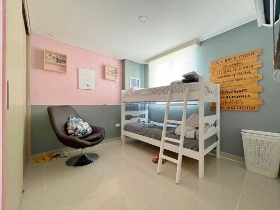 venta apartamento 3 alcobas en laguna del cabrero marbella cartagena