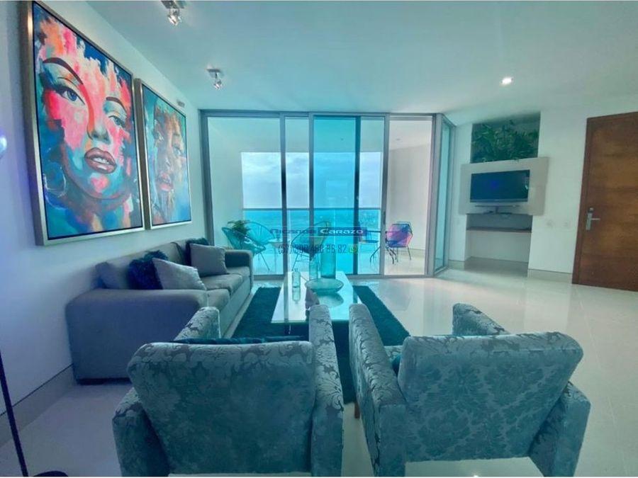 venta apartamento 3 alcobas en terrazas del mar bocagrande cartagena