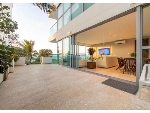 venta apartamento 3 alcobas en edificio mistral en cielo mar cartagena