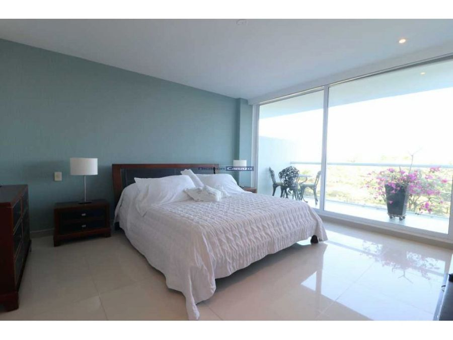 venta apartamento 3 alcobas karibana beach golf cartagena