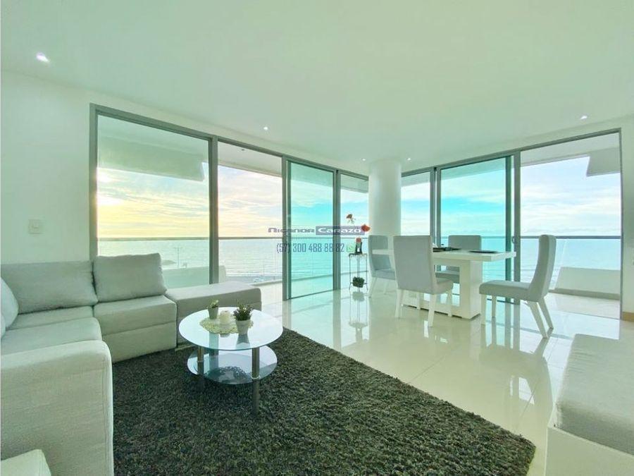 venta apartamento 3 habitaciones vista al mar en beach club cartagena