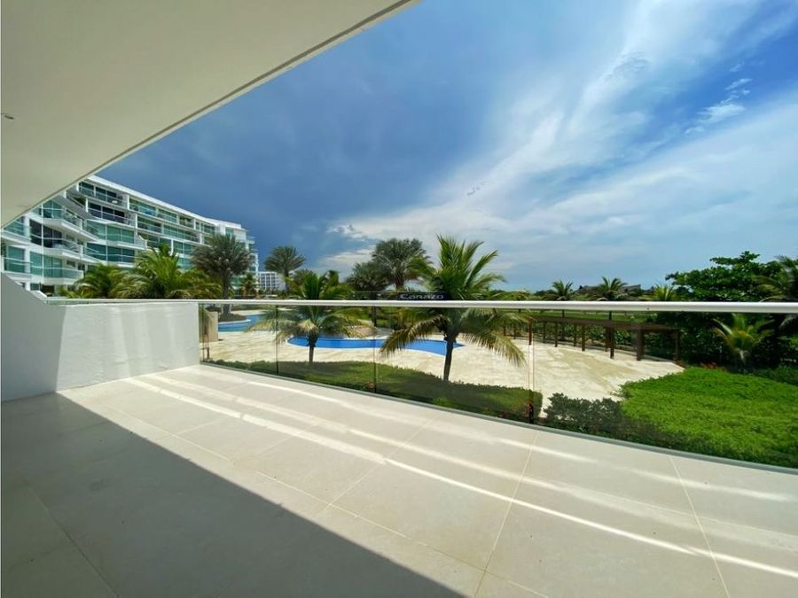 venta apartamento 4 alcobas karibana beach golf en cartagena