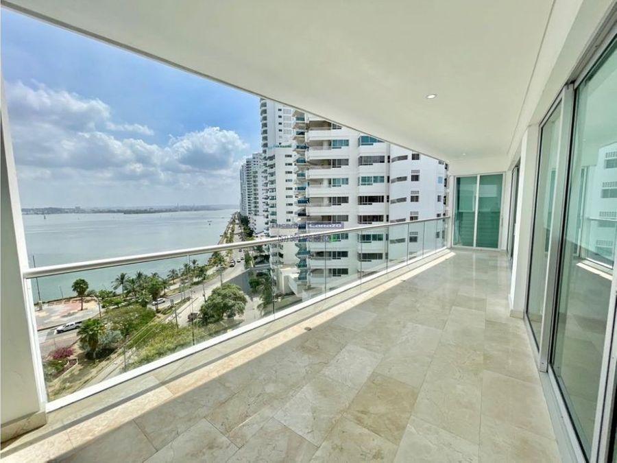 venta apartamento 4 habitaciones en grand bay en bocagrande cartagena