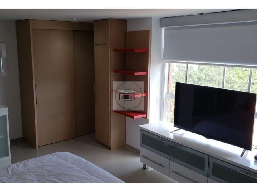 venta apartaestudio amoblado la frontera poblado medellin 28 m2
