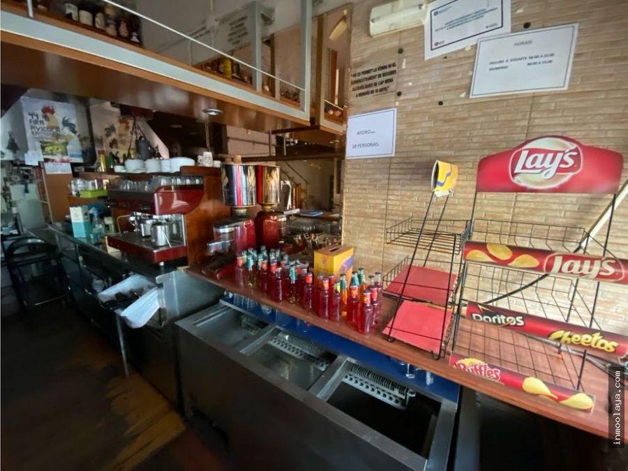 venta de bar en viladecans