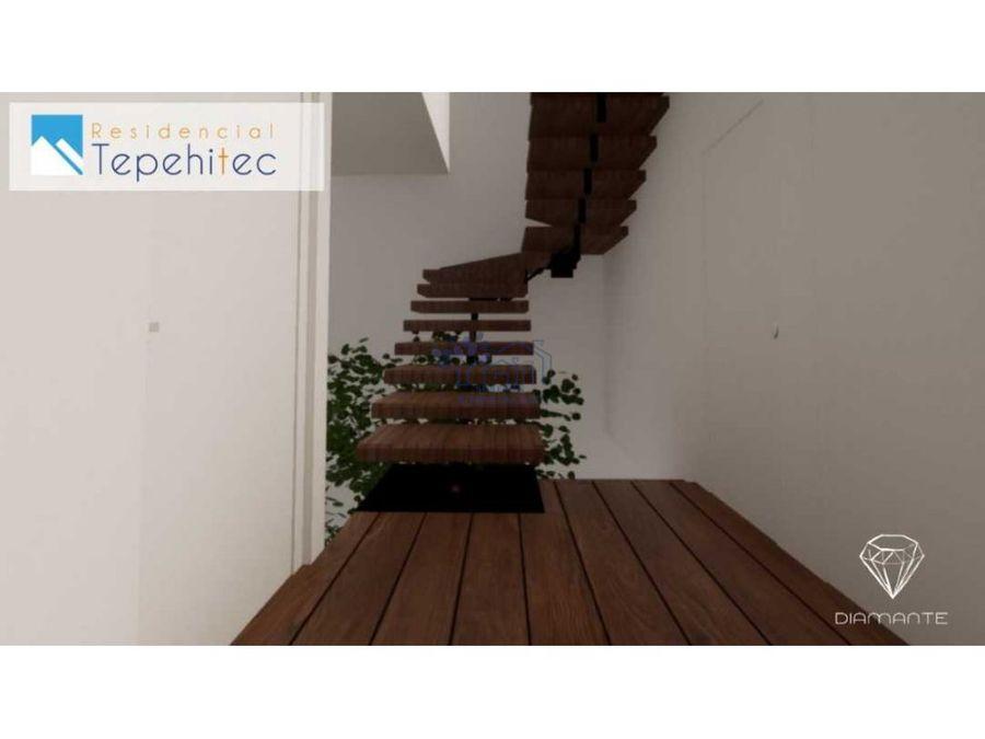 venta casa 3 niveles residencial tepehitec