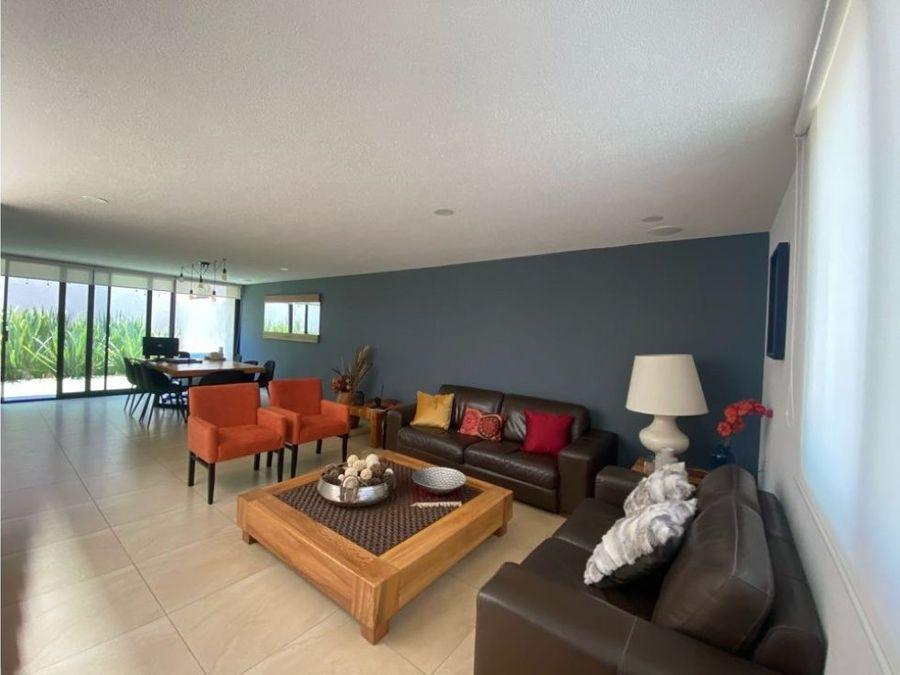 venta casa 2 recamaras estudio privada con alberca zakia el marques