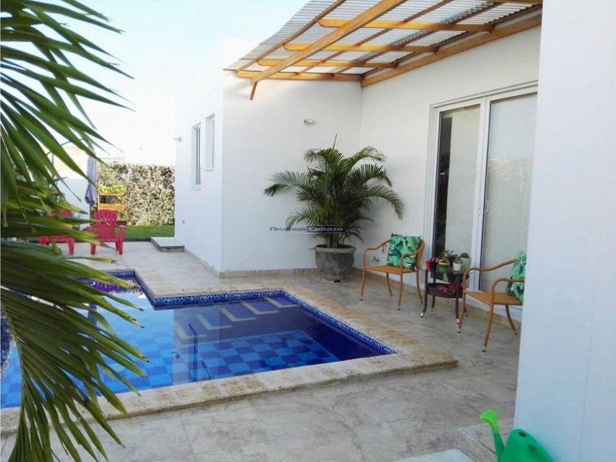 venta casa con piscina en montserrat by barcelona cartagena de indias