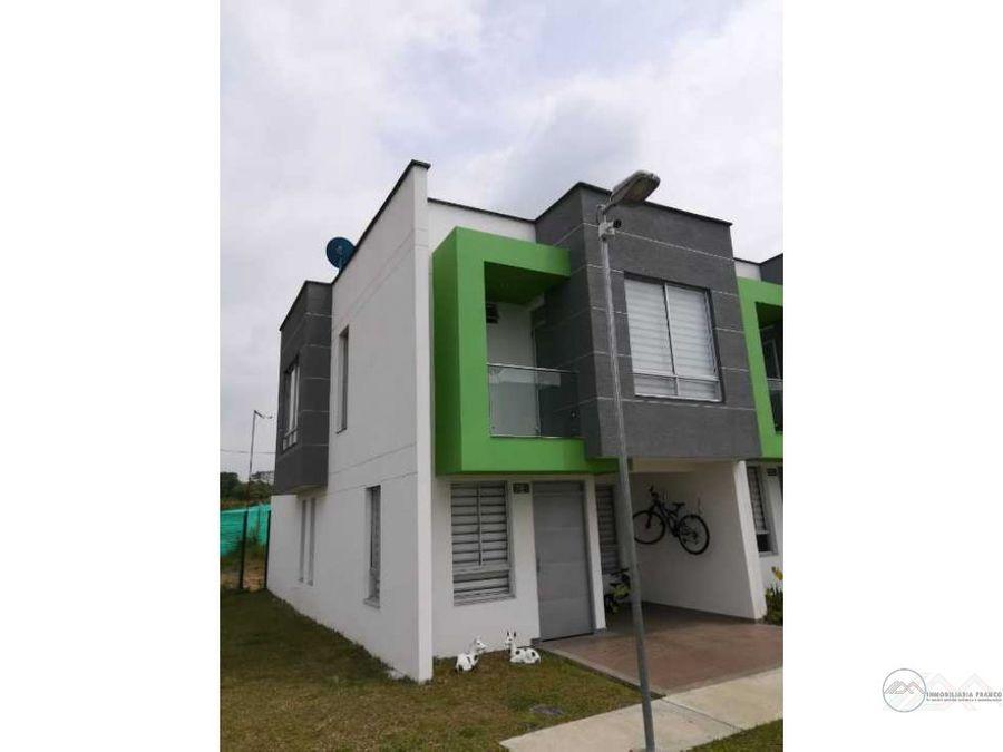 venta de casa en conjunto cerrado sector estadio centenario