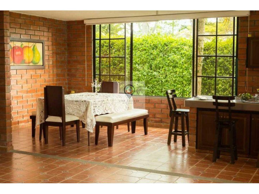 venta casa campestre amoblada sector cerritos