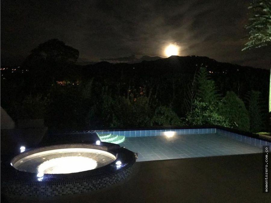 venta casa campestre combia pereira con piscina conjunto cerrado
