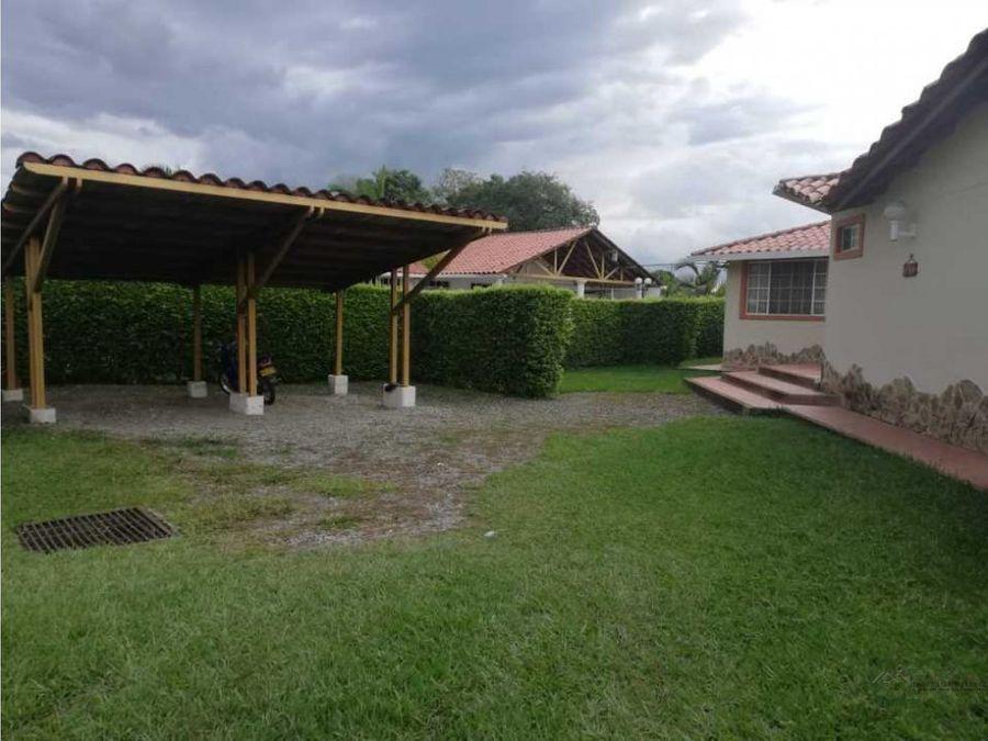 venta casa campestre sector el caimo