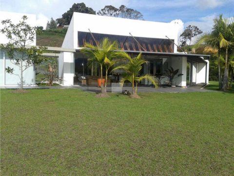 venta casa campestre via san antonio la ceja 300 m2