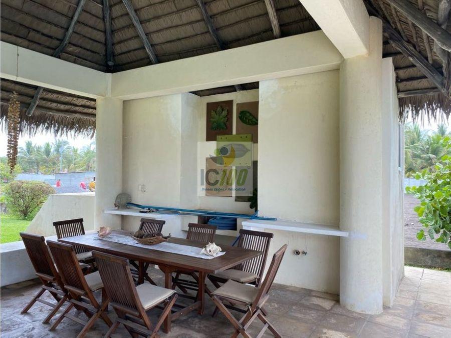 venta casa de playa monterrico guatemala