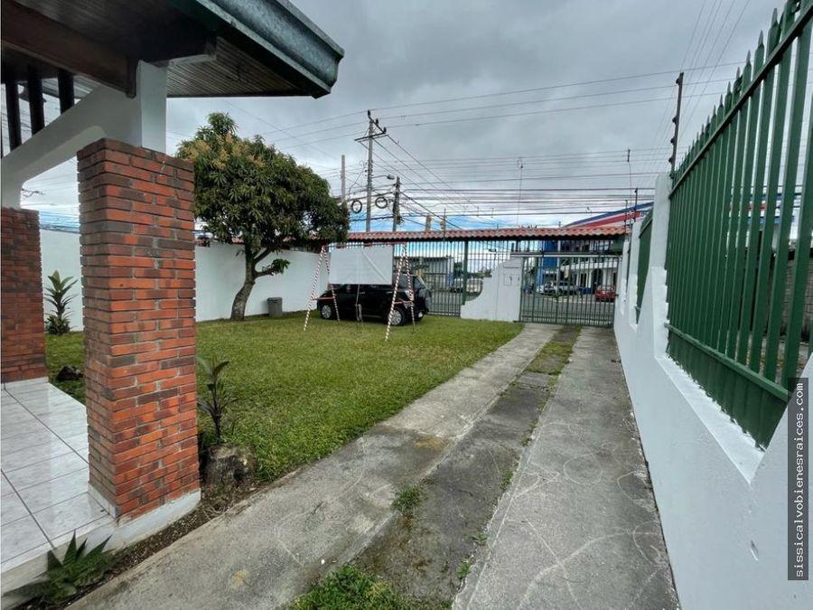 venta casa de una planta san antonio desamparados