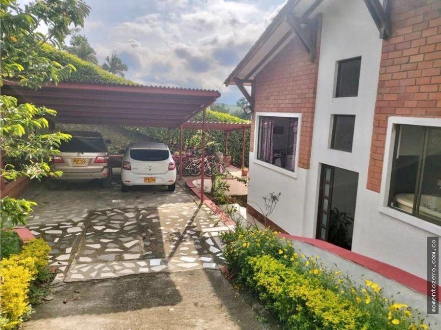venta casa en condominio campestre 2 niveles combia pereira