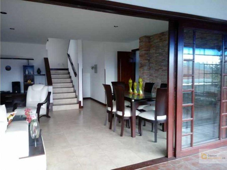 venta casa en condominio san fdo campestre popayan