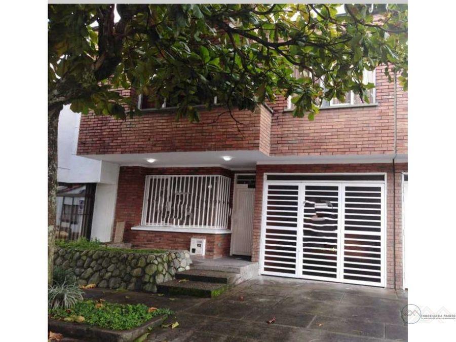 venta casa en barrio nueva cecilia al norte de armenia quindio
