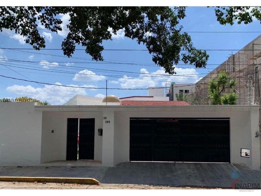 venta casa merida con excelente ubicacion