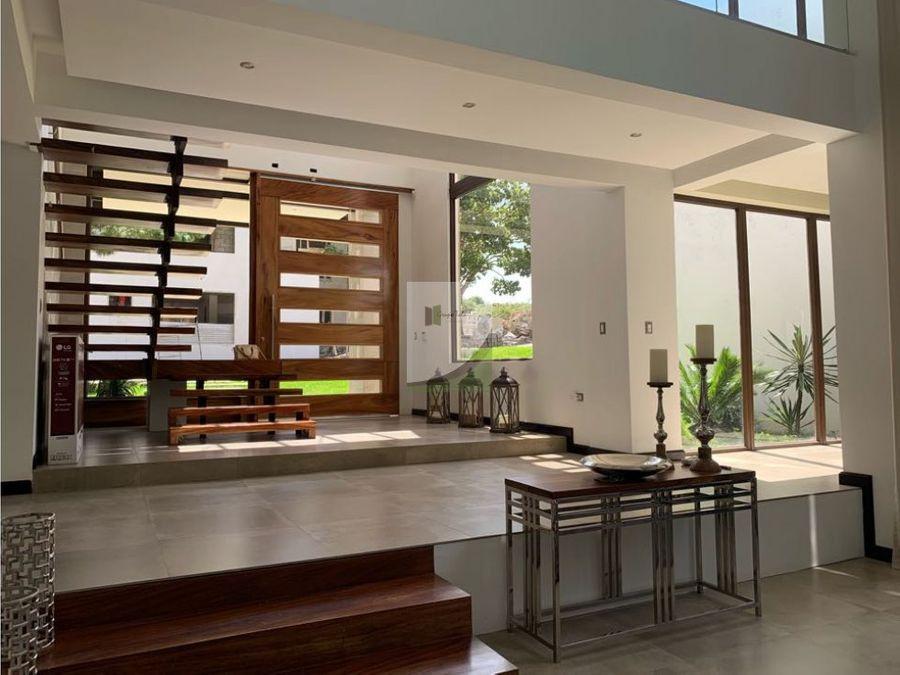 casa en venta exclusiva en carretera a el salvador