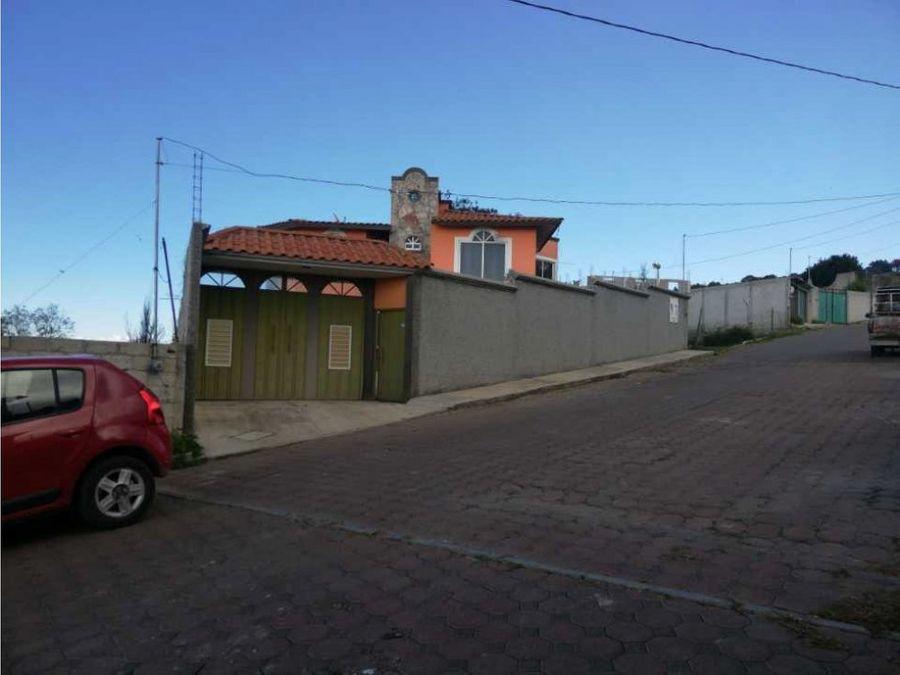 venta casa san francisco temezontla panotla