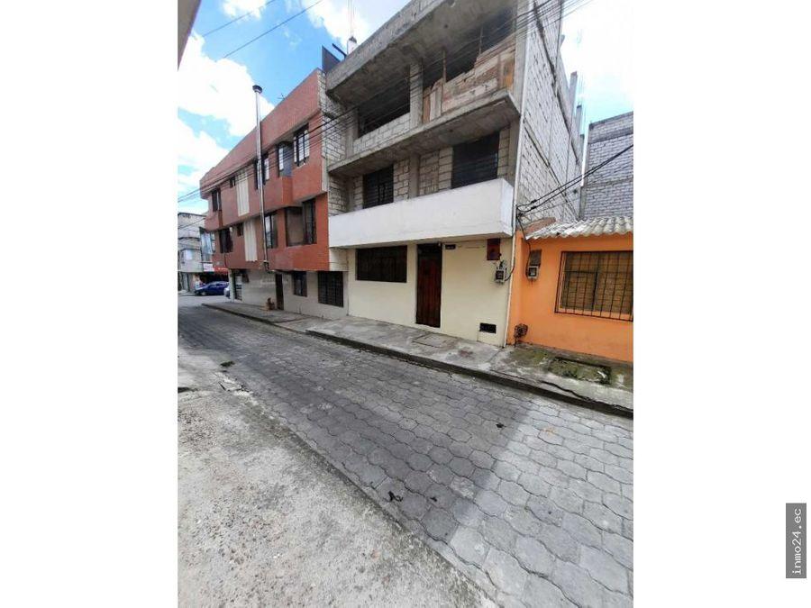 venta casa rentera 3 plantas oportunidad sector norte carapungo