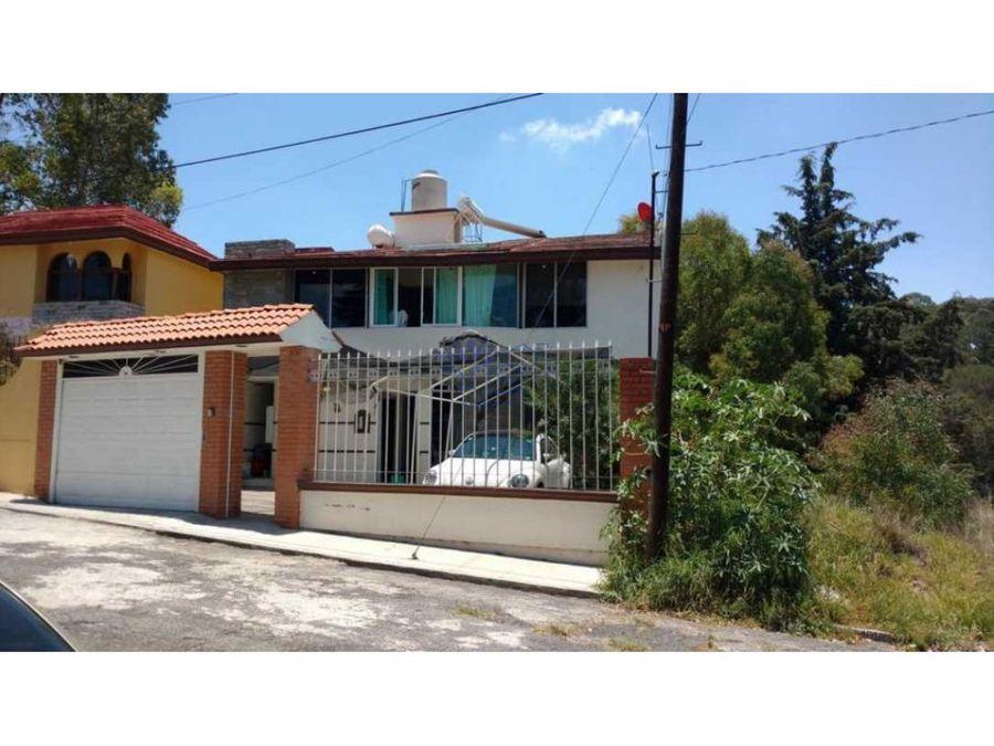 venta casa residencial en fracc santa elena panotla