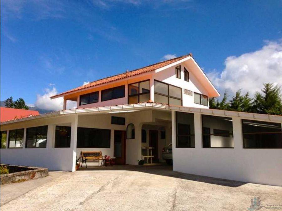 venta casa volcan chiriqui