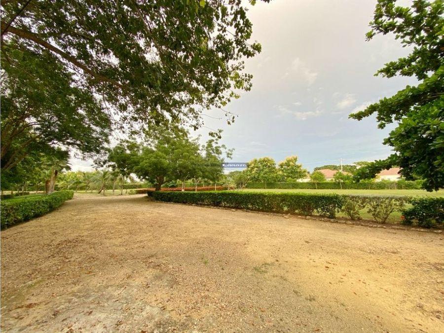 venta casa finca de 1 hectarea en zona norte via punta canoa cartagena