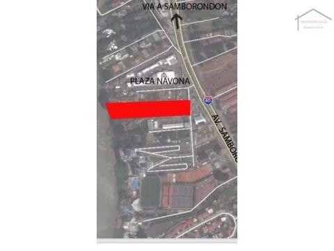 venta de macrolote en samborondon guayaquil