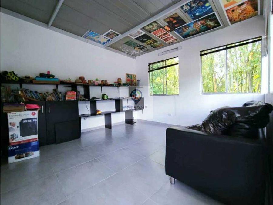 venta de amplia e iluminada casa campestre pereira