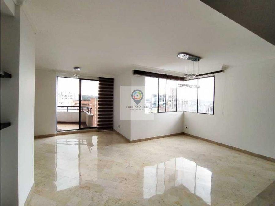 venta de apartamento amplio e iluminado en los alpes pereira
