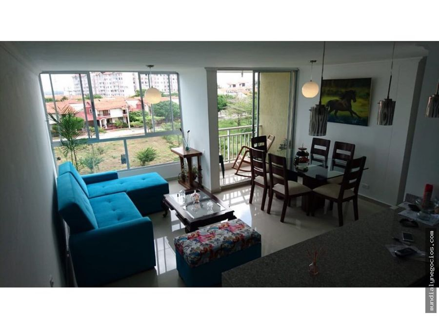 venta de apartamento en zona norte con vista al rio