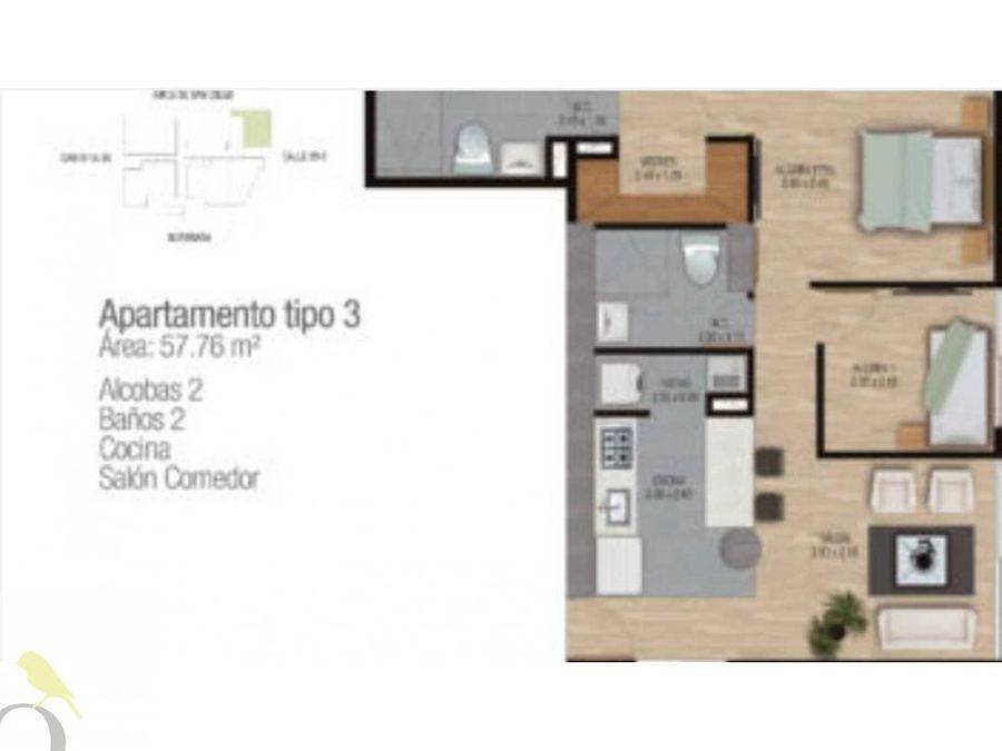 venta de apartamento para estrenar sector las palmas