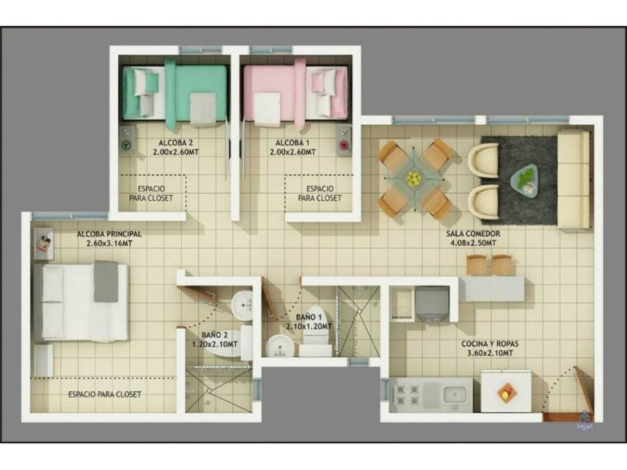 venta de apartamento torre octava cartago valle