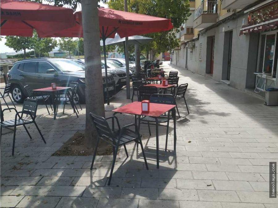 venta de bar cafeteria c1 con terraza en cornella