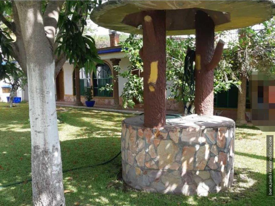 renta de casa para fin de semana con alberca y jardin en morelos
