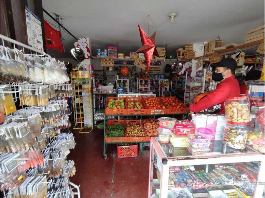 venta de casa con local comercial en montenegro quindio