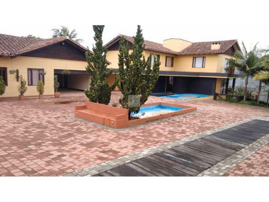 venta casa campestre 32500 m2 6500 millones