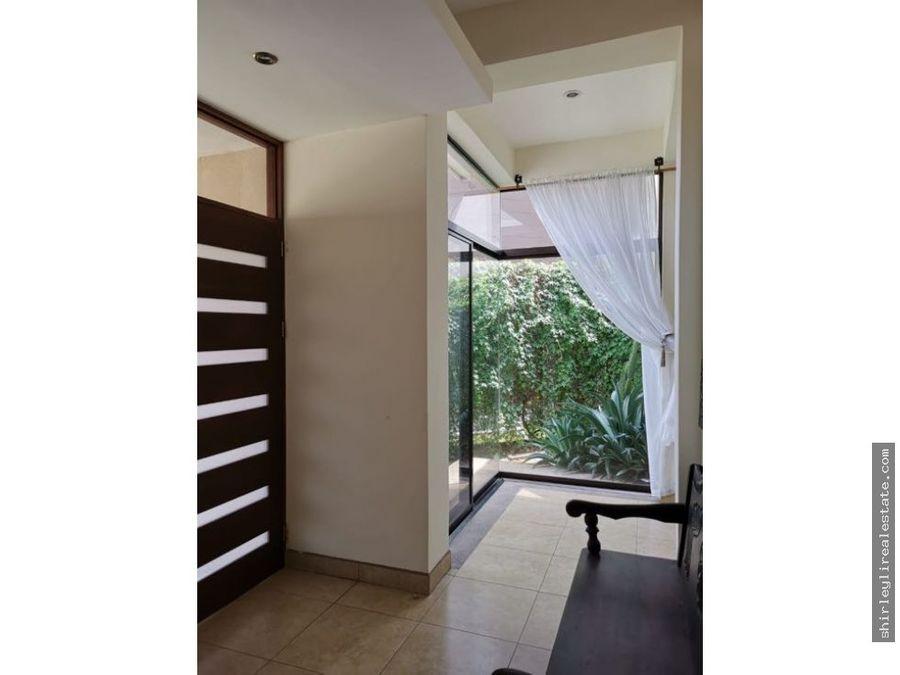 venta de casa en condominio exclusivo francosta