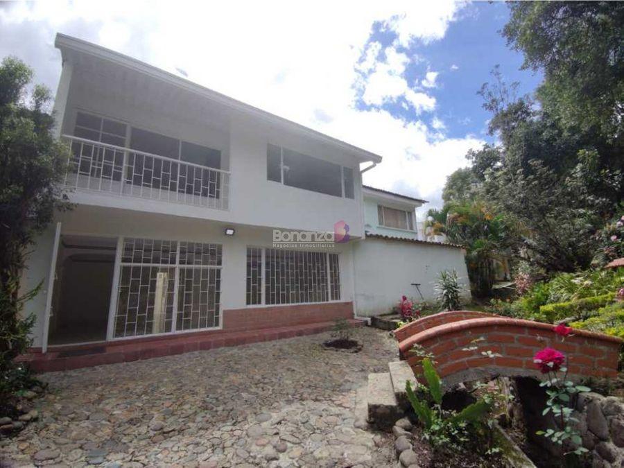 venta de casa en campamento popayan