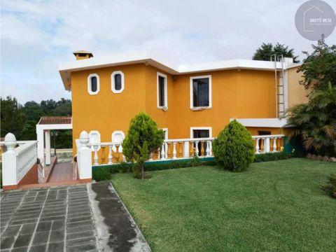 venta de casa en km262 carretera a el salvador