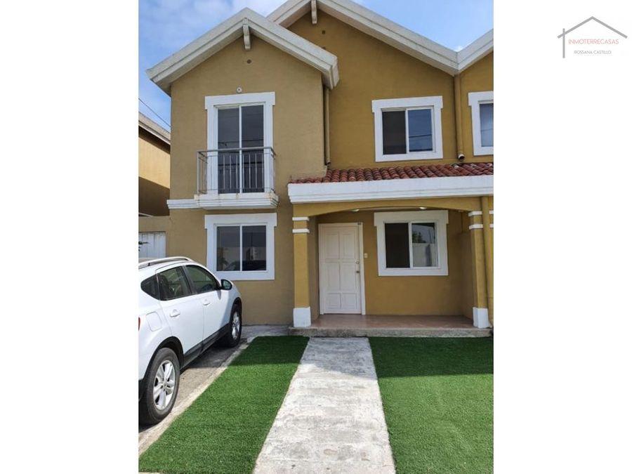 venta de casa en la urbanizacion marinador park