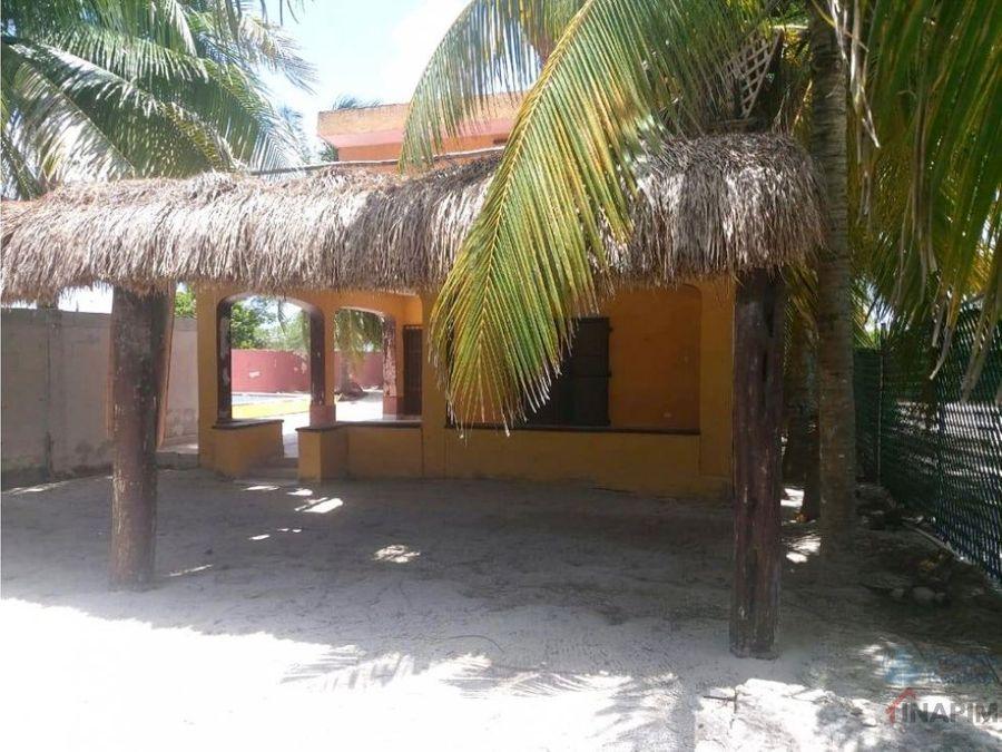 venta de casa en playa chicxulub