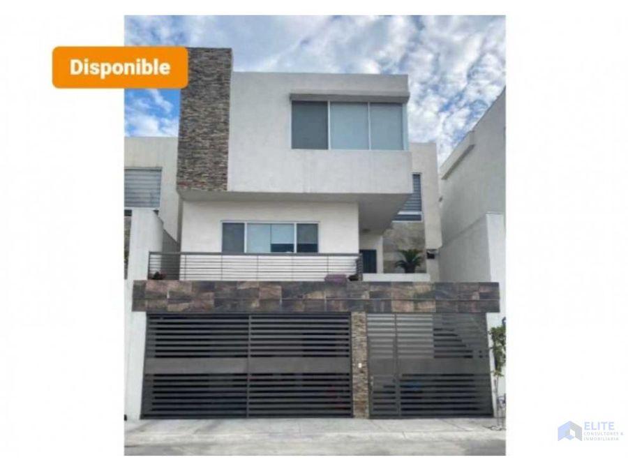 venta de casa en cumbres puerta de hierro