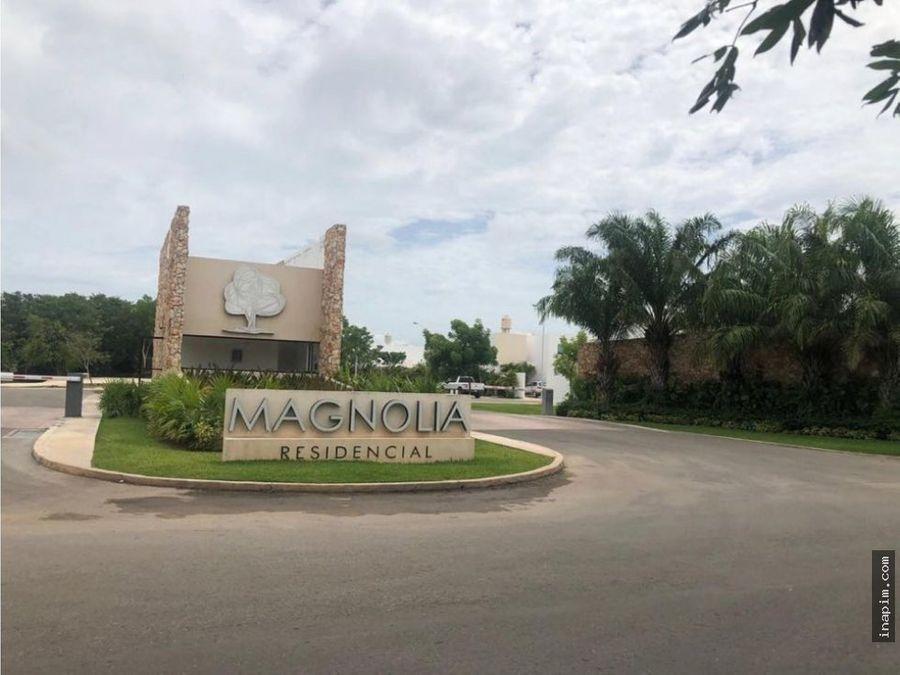 venta de casa en residencial magnolia conkal