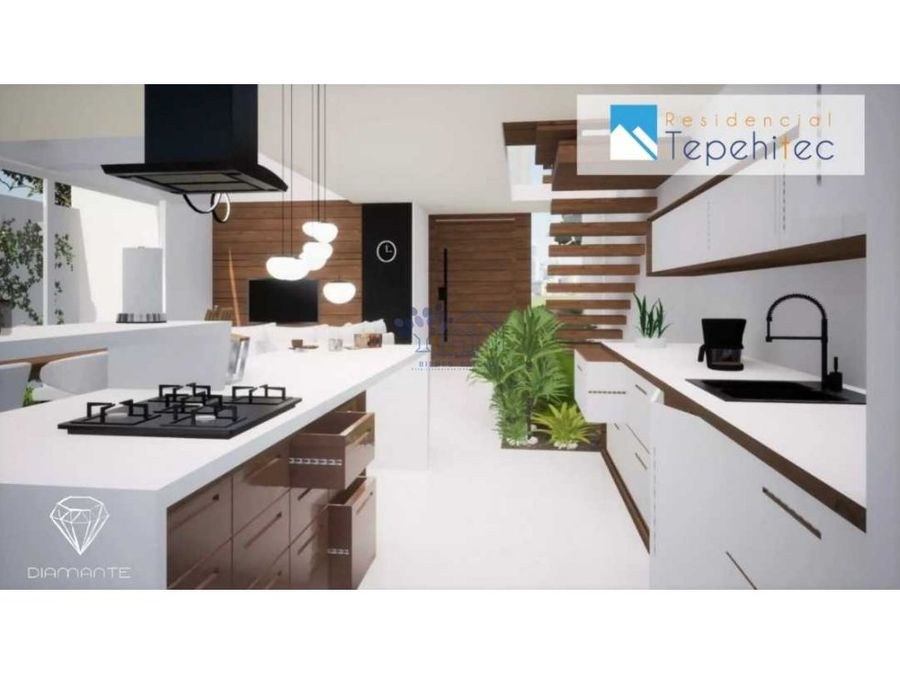 venta de casa en residencial tepehitec 3 niveles